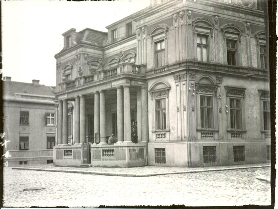 Zdanje Narodne biblioteke Srbije na Kosančićevom vencu u Beogradu (iz Zbirke fotografija Muzeja grada Beograda)