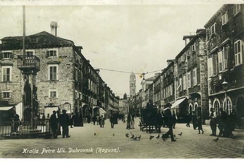 Dubrovnik – Ulica Kralja Petra