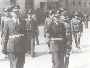 General Simović i kralj Petar II