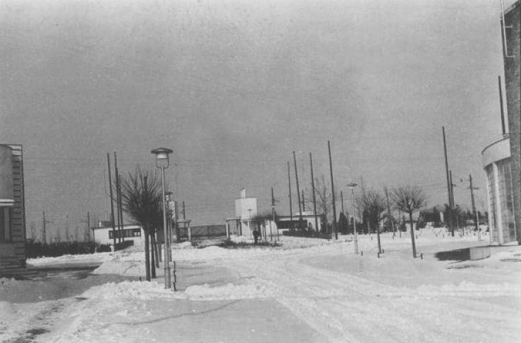 Foto: Staro sajmište - Predratna zima 1940-41; Autor; Wikipedia Creative Commons