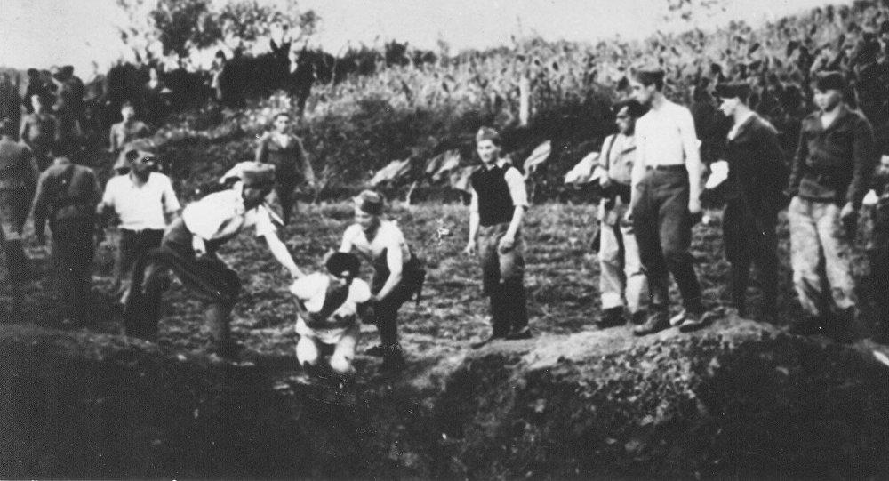 Logor smrti u Jasenovcu Foto: wikipedia.org