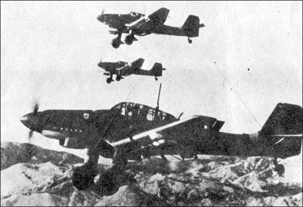 * На Београд се обрушила 354 немачка авиона