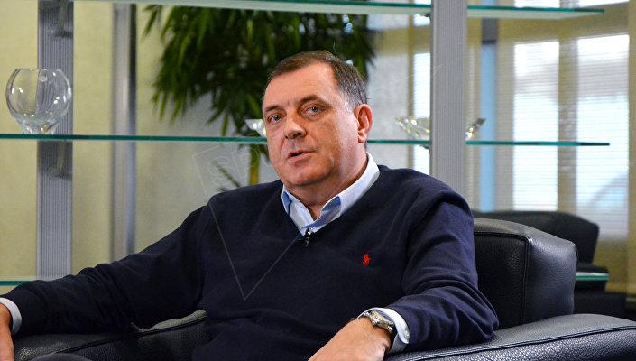 Predsednik Republike Srpske Milorad Dodik © SPUTNIK/ ALEKSANDAR MILAČIĆ