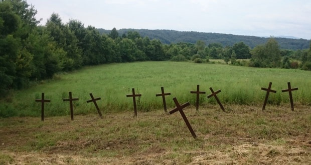 Groblje u Glini , Foto Tanjug