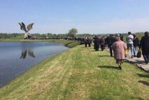 Građani danas odali poštu žrtvama u Jasenovcu, Foto J.Kerbler