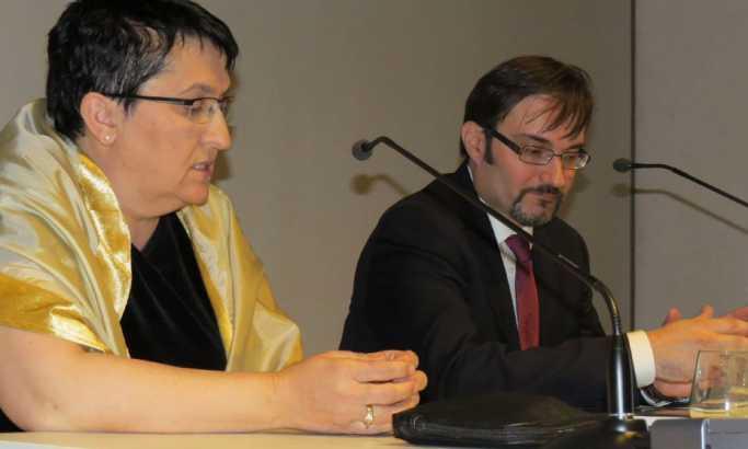 Mira Lolić-Močević i dr Dario Vidojković Foto: B. Miličić