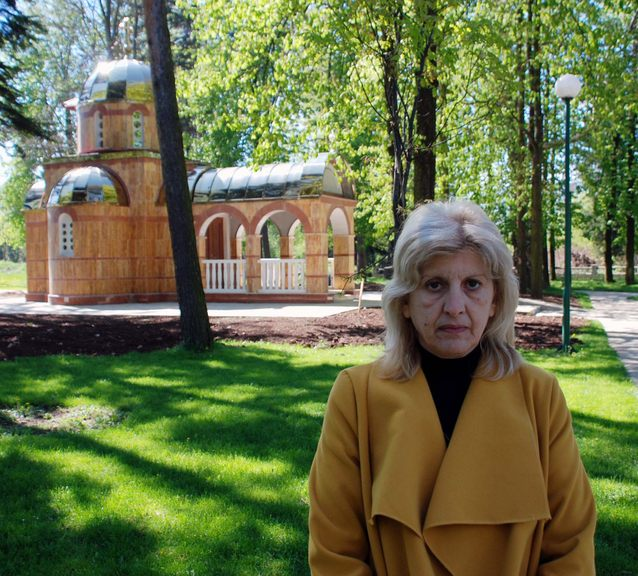 Predsjednik Organizacionog odbora za obilježavanje Dana nestalih Srba Sarajeva i Sarajevsko-romanijske regije Mirjana Cabo.