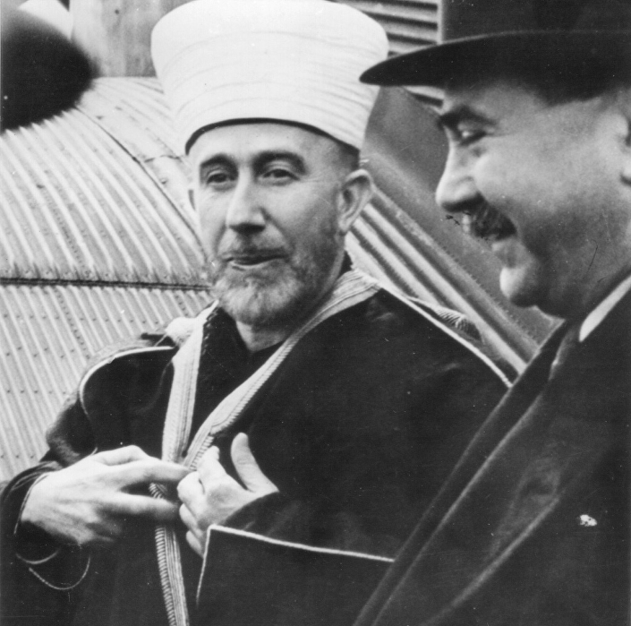 Muhamed Amin el Huseini i Mile Budak.© FOTO: JAVNO VLASNIŠTVO