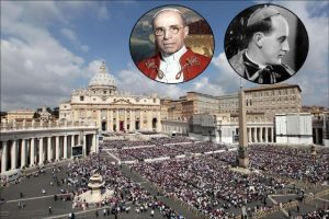 Papa Pije XII / Kardinal Stepinac / Foto: AP