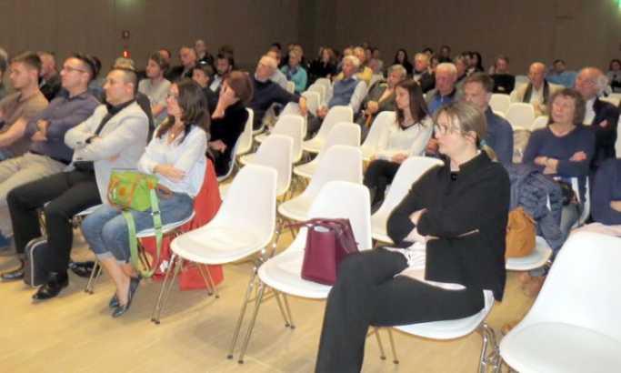 Potresna priča: Publika u dvorani Foto: B. Miličić