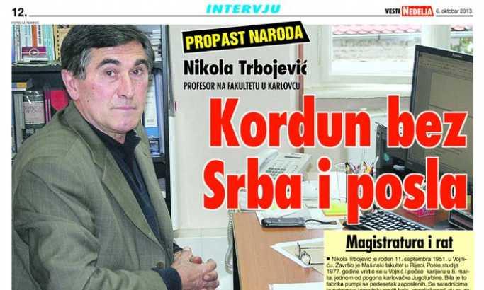 """""""Vesti"""" od 6. oktobra 2013."""