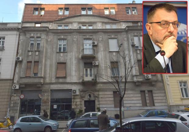 Зграда у Његошевој 49 у Београду враћена јеврејској заједници / Фото В. Данилов/ Страхиња Секулић / Фото Агенција за реституцију