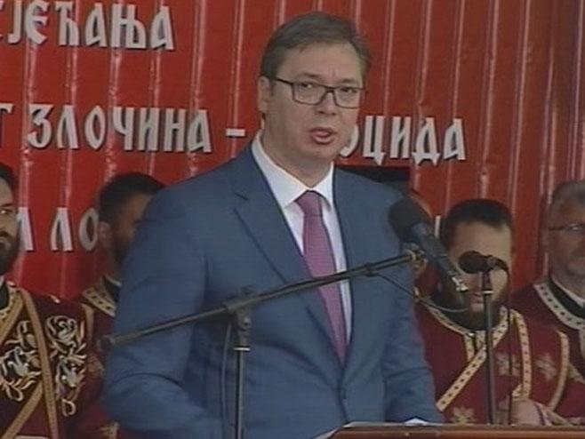 Aleksandar Vučić, premijer i izabrani predsjednik Srbije (Foto: RTRS)