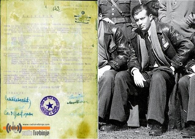 Након смрти Ђока Путице (десно), Оперативни штаб преузимају Петар Драпшин и Миро Попара (аутентичан документ)