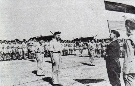 Прву ескадрилу НОВЈ посетили су 21. маја представници ВШ НОВЈ, када је људство положило заклетву НОВЈ.