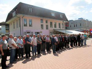 25.godina od druge posavske brigade Foto: SRNA