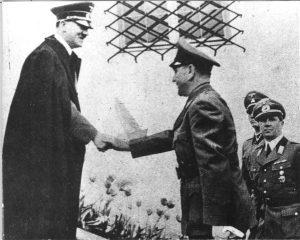 Адолф Хитлер и Анте Павелић
