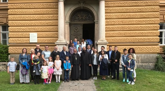 - Zajednička fotografija posle Svete Liturgije -
