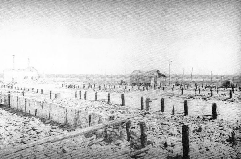 Jasenovac, barake