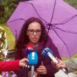 Član Udruženja logoraša regije Birač Jelena Gligorević