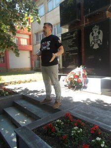 Ratni komandant Drugog bataljona Aleksandar Saša Petrović