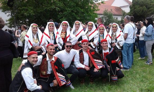 Tradicija Članovi KUD su podsetili na raskošnu nošnju Krajišnika,foto S.Kostić
