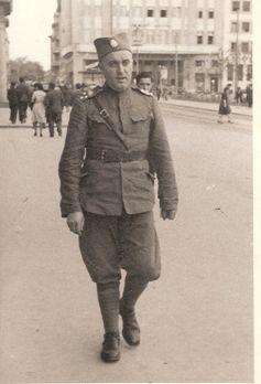 Nikola Milovančev u uniformi rezervnog oficira Vojske Kraljevine Jugoslavije