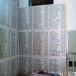 Na zidovima hrama Svetog Georija je ispisano 4.000 imena boraca poginulih na široj Sarajevsko-romanijskoj regiji za Republiku Srpsku.