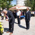 U Prijedoru je danas obilježeno 25 godina od odbrane grada i sjećanje na 30. maj 1992. godine, kada je u napadu muslimanskih paravojnih formacija poginulo 15 boraca iz redova vojske i policije, a 26 ranjeno