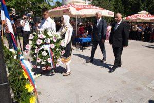 У Приједору је данас обиљежено 25 година од одбране града и сјећање на 30. мај 1992. године, када је у нападу муслиманских паравојних формација погинуло 15 бораца из редова војске и полиције, а 26 рањено