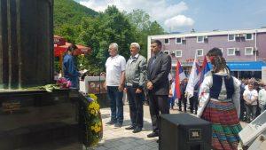 U Višegradu je danas služenjem parastosa i polaganjem cvijeća na centralni spomenik braniocima Republike Srpske obilježeno 25 godina od formiranja Višegradske brigade