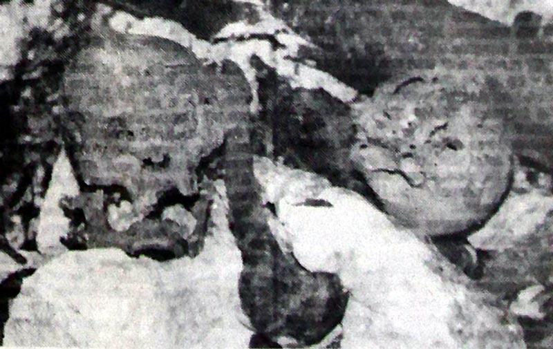 Neko se trudio da i ovo zatrpa kamenjem i cepanicama, ali uzalud: prizor sa dna Šaranove jame