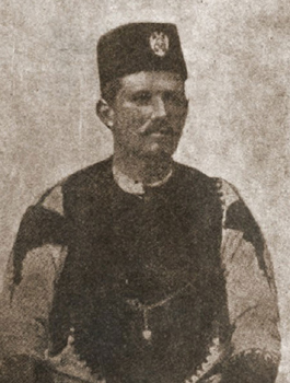 Svedok Vasilije Trbić, iz četničkih dana