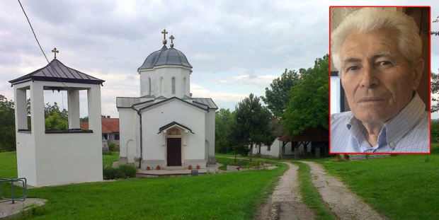 Crkva u Baćevcu i vernici bili su meta komunističkog režima posle Drugog svetskog rata Foto B.Puzović, Hroničar Dragiša Božić