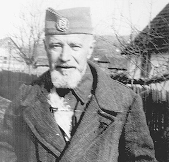 Dragiša Vasić, poslednji snimak iz 1945.