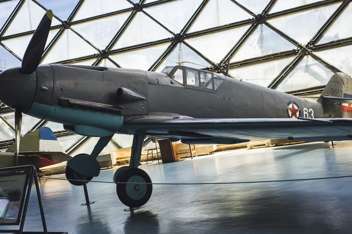 Jugoslavija je pred rat imala preko 70 Meseršmit BF-109 aviona koji su u aprilskom ratu 1941. godine učestvovali u odbrani Beograda i Jugoslavije. Ovaj avion jedan je od tri sačuvana tog tipa u svetu. / Foto: Neda Mojsilović, Tango Six