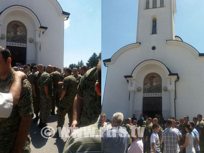 Obilježavanje Vidovdana- krsne slave Vojske Republike Srpske Foto: RTRS