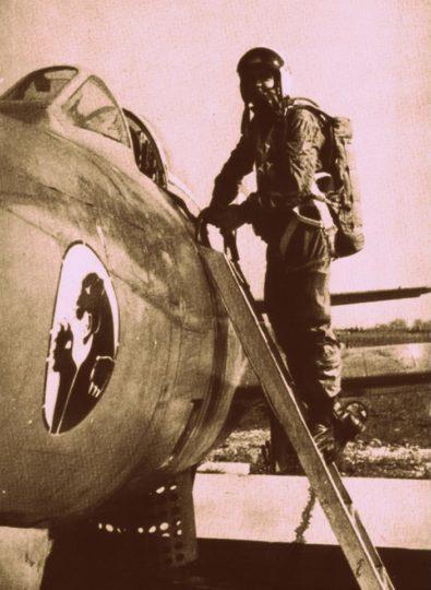 Krajem šezdesetih godina dvadesetog veka na prednjem delu aviona iz sastava 238. lbae nalazio se amblem crnog pantera. Lovac-bombarder F-84G sa karakterističnim crnim panterom na nosnom delu (foto KRV i PVO)