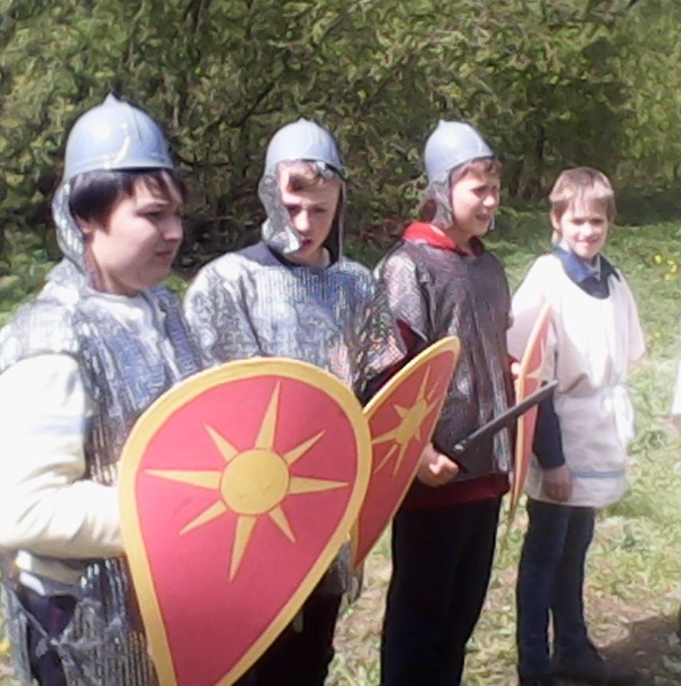 Ruski đaci na snimanju