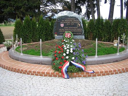 Spomenik ustaškim zločincima