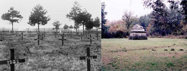 Vojničko groblje, nekad i sad