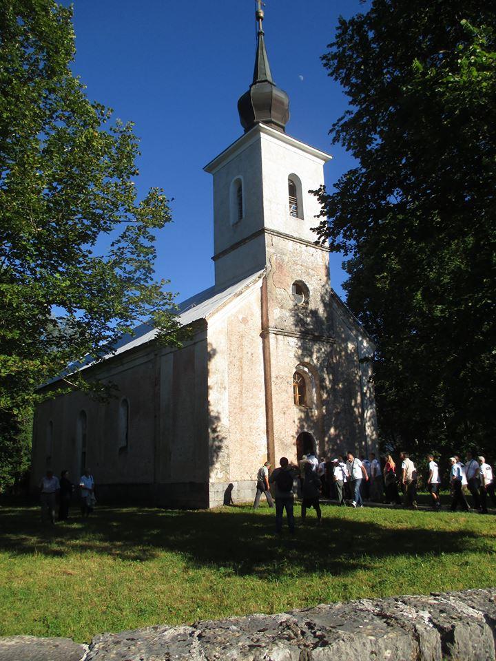 Manastir u selu Medak