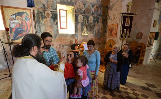 Pravoslavnih vernika u hramu je sve manje,foto D.Dozet