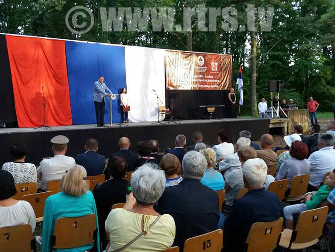 Obilježavanje 27.jula u Milića Gaju
