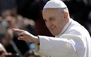 Papa Franja (arhivska fotografija)