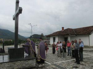 Sjećanje na Srbe iz Ranče Foto: SRNA