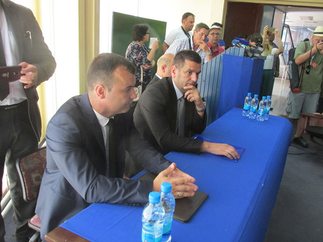 Srebrenica: Grujičić - Tabaković Foto: SRNA