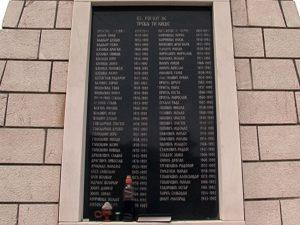 Parastos za najveće stradanje Trnovljana Foto: RTRS