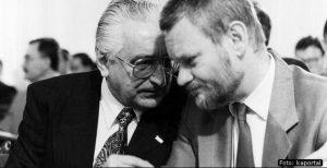 Franjo Tuđman i Ivica Račan