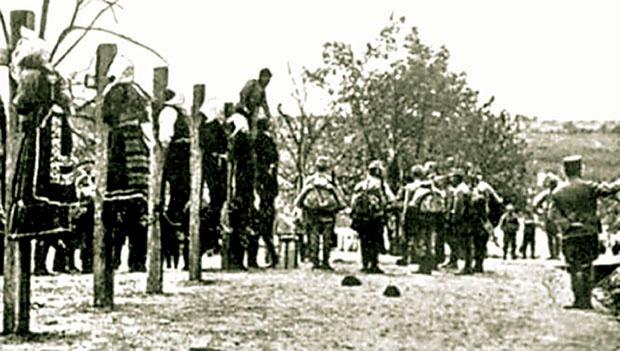Zločini 42. vražje divizije u Mačvi